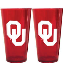 Oklahoma Sooners Pint Cups 2ct