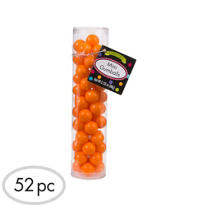 Orange Mini Gumballs 3oz