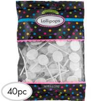 White Lollipops 48pc