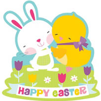 Happy Easter Cutout 15 1/2in