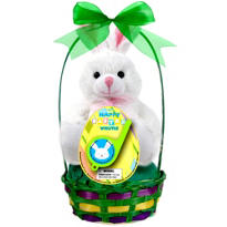 Premade Bunny Easter Basket 11 1/2in