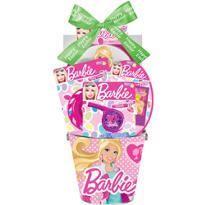 Premade Barbie Easter Basket 4 3/4in