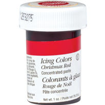 Christmas Red Icing Color 1oz