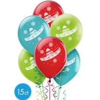 Fiesta Balloons 15ct