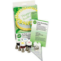 Wilton Cake Decorating Set 25pc