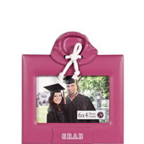 Pink Hoodie Graduation Photo Frame