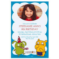 Uglydoll Custom Photo Invitation