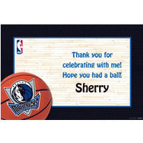 Dallas Mavericks Custom Thank You Note
