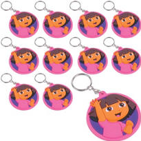 Dora the Explorer Keychains 24ct
