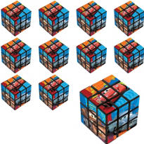 Cars Puzzle Cubes 24ct