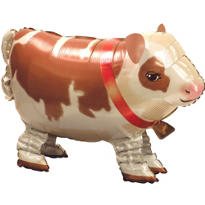 Cute Cow Balloon Buddy 25in x 17in