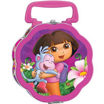 Dora the Explorer Metal Lunch Box 7in