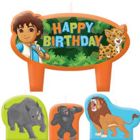Go, Diego, Go! Birthday Candles 4ct