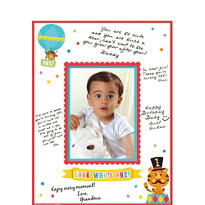 Fisher Price 1st Birthday Autograph Photo Mat