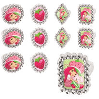 Strawberry Shortcake Rings 48ct