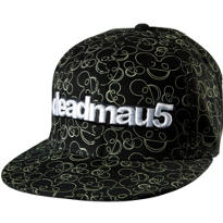 Glow in the Dark Deadmau5 Baseball Hat