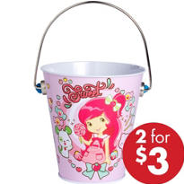 Strawberry Shortcake Metal Pail
