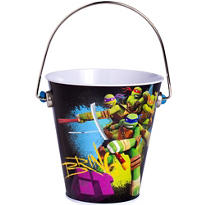 Teenage Mutant Ninja Turtles Metal Pail