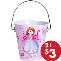 Sofia the First Metal Pail