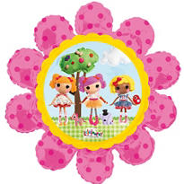 Foil Flower Lalaloopsy Balloon 34in