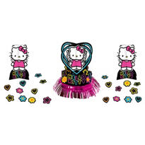 Neon Hello Kitty Table Decorating Kit 3pc