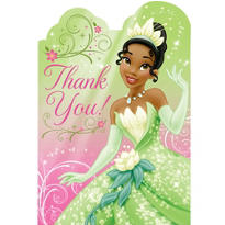 Princess and the Frog Thank You Notes 8ct