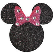 Glitter Minnie Mouse Body Jewelry
