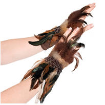 Owl Feather Gloves
