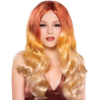 Dragonfire Red Ombre Wig