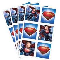 Superman Stickers 24ct