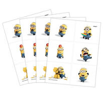 Despicable Me Tattoos 4 Sheets