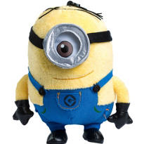 Clip-On Despicable Me Stuart Minion Plush
