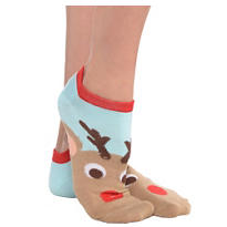 Reindeer Ankle Socks