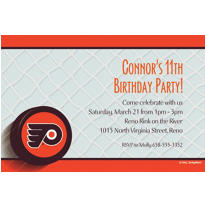 Philadelphia Flyers Custom Invitation
