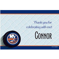 New York Islanders Custom Thank You Note