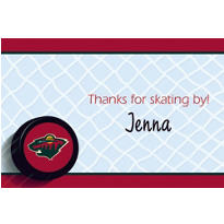 Minnesota Wild Custom Thank You Note