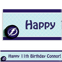 Tampa Bay Lightning Custom Banner
