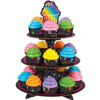 Neon Cupcake Stand