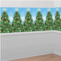 Evergreen Christmas Room Roll