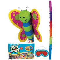 Pull String Butterfly Pinata Kit