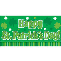Happy St. Patricks Day Banner