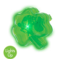 Light-Up Shamrock Ring