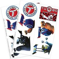 Turbo Tattoos 2 Sheets
