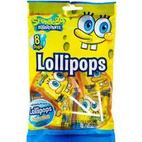 SpongeBob Lollipops 8ct