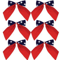 Patriotic Bows 6ct