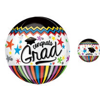 Orbz Congrats Graduation Balloon