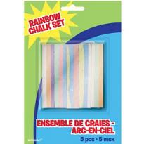 Rainbow Chalk Set 5ct