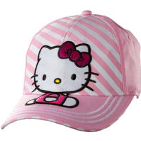 Child Pink Stripe Hello Kitty Baseball Hat
