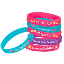 Doc McStuffins Wristbands 4ct