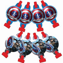 Captain America Blowouts 8ct